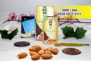 Minyak Almond Pemerah Bibir Alami